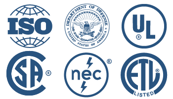 Electroweave Certifications